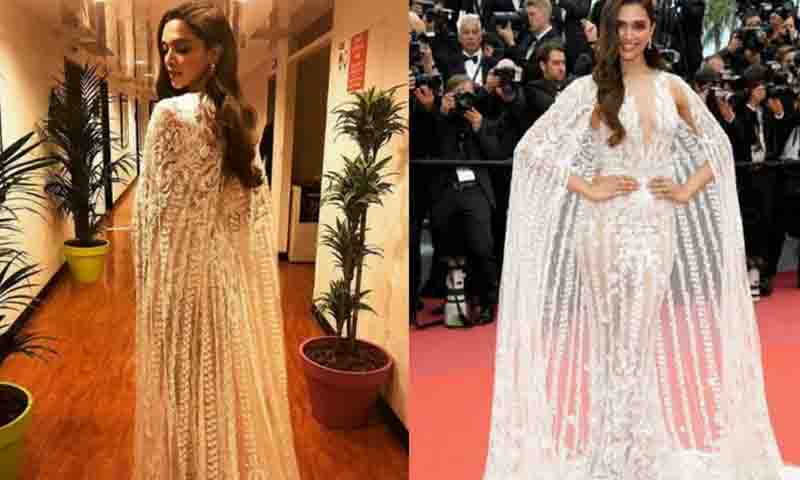 Cannes 2018: Deepika Padukone Sizzles The Red Carpet. See ...