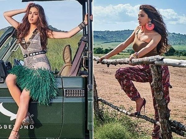Sara Ali Khan looks super gorgeous in her latest shoot for Magazine Cover.