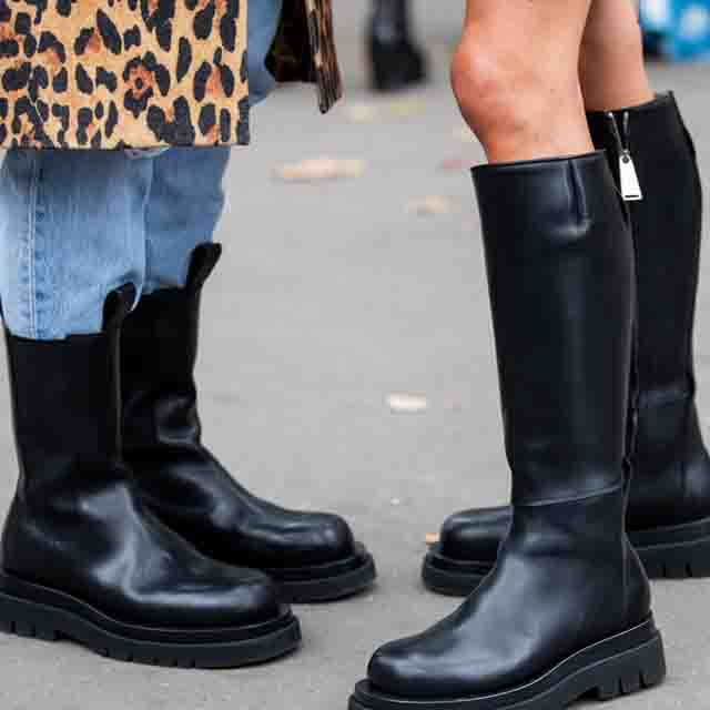 Fashion Trends for women's. Fashion, Trends, women, Chunky boots with dresses