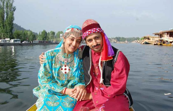 Jammu and Kashmir traditional dress