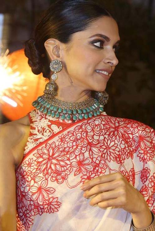 Deepika Padukone Silver Jewellery,, 5 Festive Ways to Wear Silver Jewellery