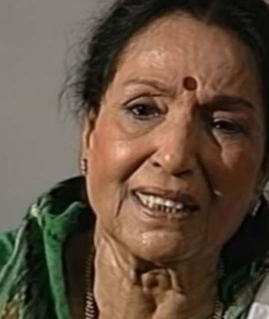 Lalita Pawar, Played the Role of Mother in Bollywood Movies