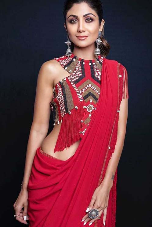 Shilpa Shetty Silver Jewellery, 5 Festive Ways to Wear Silver Jewellery