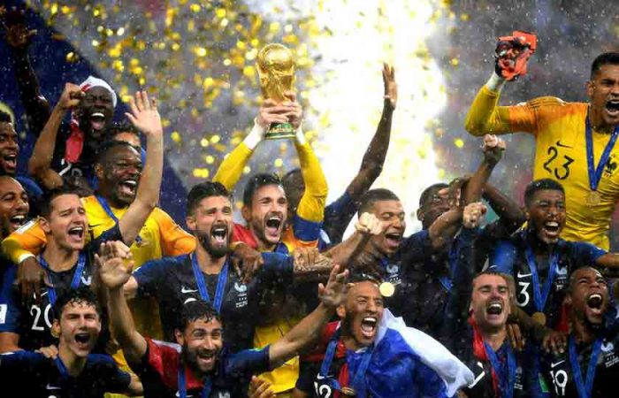 The world becomes One During The World Cup
