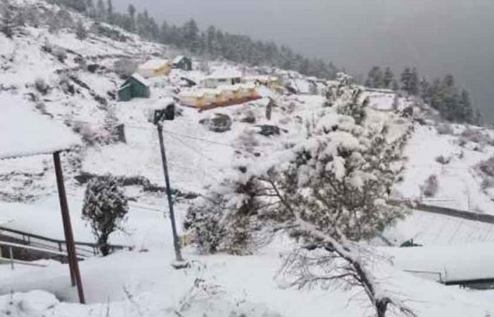 Dhanaulti, 7 Places in India to see snowfall
