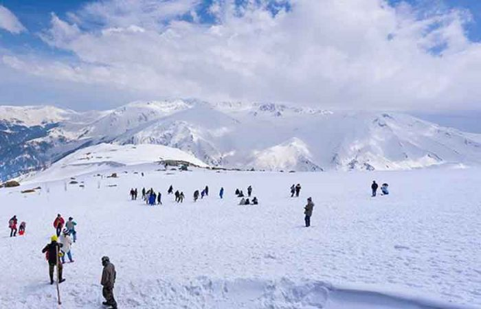 Gulmarg, Snowfall Places in India