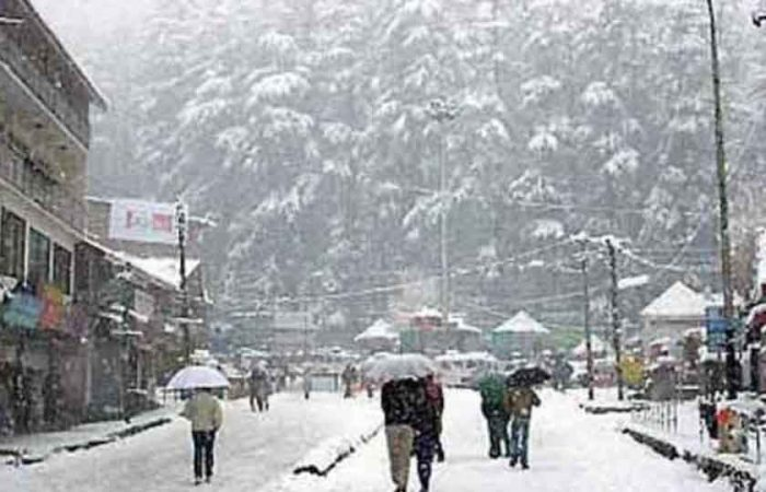 Snowfall Places in India