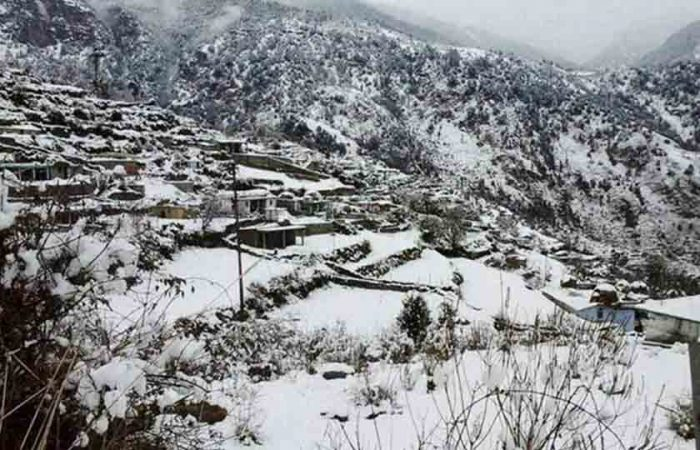 Mussoorie, Snowfall Places in India